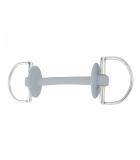 Wędzidło proste gumowe D-RING PRIME 18mm - BERIS - extra soft
