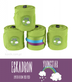 Bandaże polarowe FLEECE - YOUNGSTAR 2019/20 - Eskadron - kiwi green