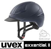 Kask EXXENTIAL II - Uvex - blue mat