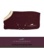Derka polarowa PREMIUM FAUX FUR AW20 - Schockemohle - burgundy