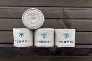 Bandaże polarowe ACTIVE - Torpol - szary jasny