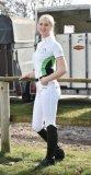 Koszulka konkursowa EP II damska - BUSSE - biały/granat/zielony