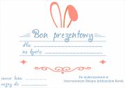 Bon prezentowy Wielkanocny! o wartości 155 zł