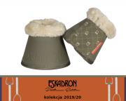 Kaloszki Eskadron FAUX FUR - PLATINUM 2019/2020 - martini olive