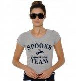 Koszulka TEAM damska - SPOOKS - grey
