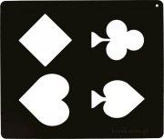 Szablon do wzorów na sierści konia - Karty do gry 4 - Ekkia