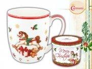 Kubek świąteczny w ozdobnym opakowaniu - Camio