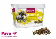 Suplement poprawiający wygląd sierści Multi Vit 15 3kg - PAVO