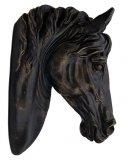 Głowa konia dekoracyjna na ścianę