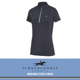 Koszulka SUMMER PAGE SS20 - Schockemohle - moonlight blue