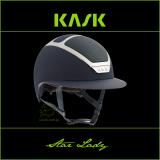 Kask Star Lady - KASK - granatowy/srebrny - roz. 55-56