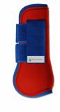 Ochraniacze skokowe ESPERIA przody - Waldhausen - red/darkblue