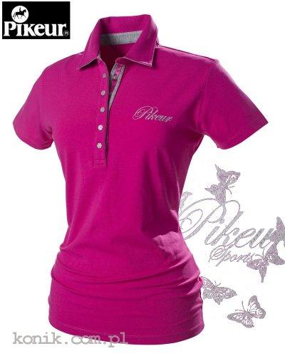 Koszulka polo Pikeur DOLLY - pink