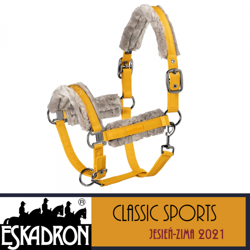 Kantar DOUBLEPIN FAUXFUR GLOSSY - Classic Sports A/W 21 - Eskadron - vintage gold