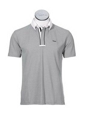 Koszula konkursowa elastyczna PIKEUR męska - szara