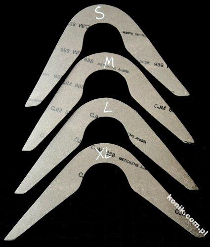 Zestaw do mierzenia łęku/szablony - DAW-MAG