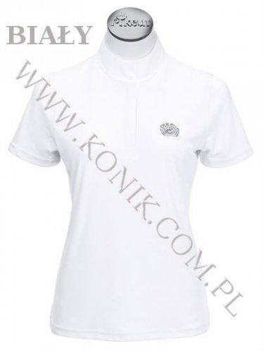 Koszula konkursowa elastyczna PIKEUR junior - biała