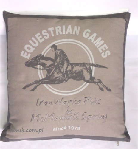 Płócienna poduszka EQUESTRIAN GAMES - HKM