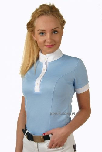 Koszulka konkursowa z krótkim rękawem damska - GALLA