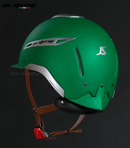 Kask ICONA COLOR green - JIN STIRRUP