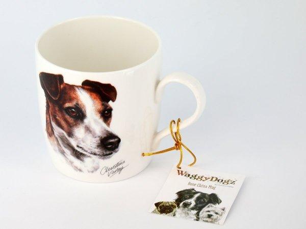 Kubek z głową psa rasy Jack Russell - Carmani