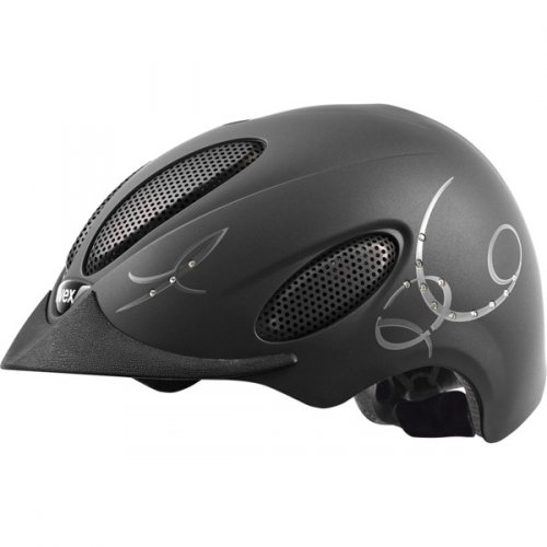 Kask UVEX perfexxion glamour - black mat