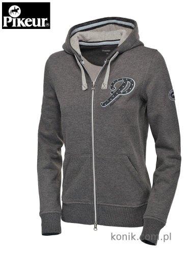 Bluza z kapturem Pikeur GESA - grey melange