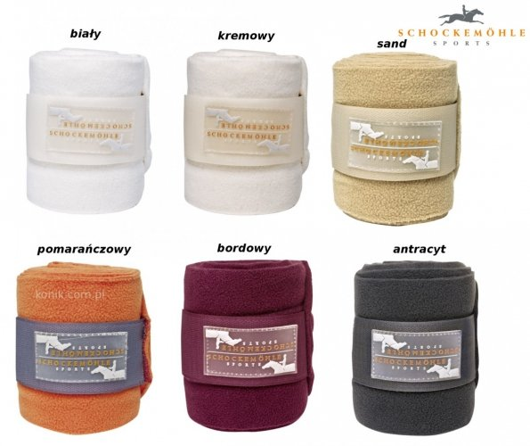 Bandaże polarowe - Schockemohle