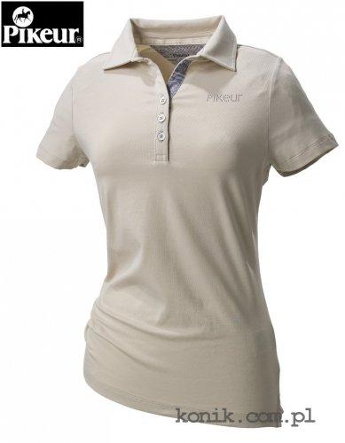 Koszulka polo Pikeur MARIELLA - light beige