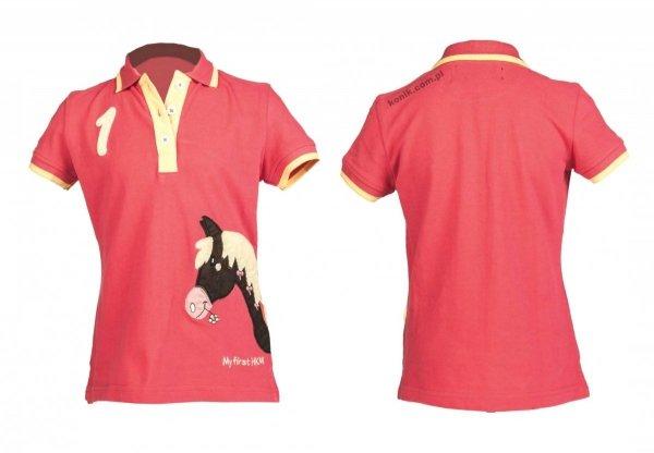 Dziecięca koszulka polo My Pony - HKM