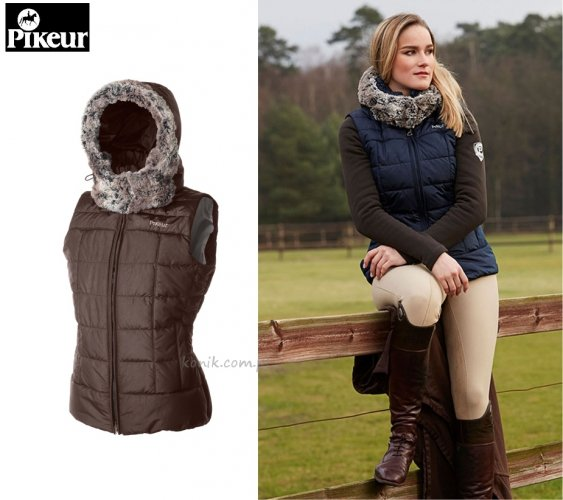 Kamizelka Pikeur OPHERIA - dark brown