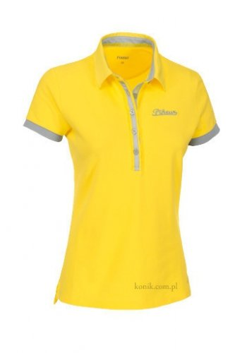 Koszulka polo damska Pikeur VANESSA - rape yellow