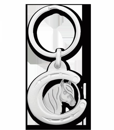 Brelok z monetą głowa konia - WALDHAUSEN