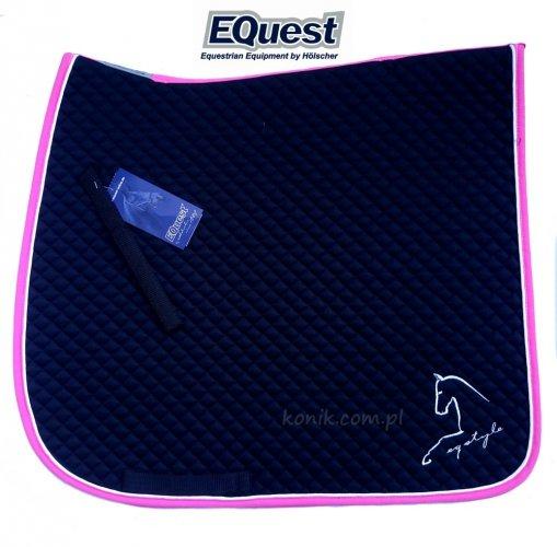 Potnik EQUEST Cotton Classic Plus EQ STYLE- czarny