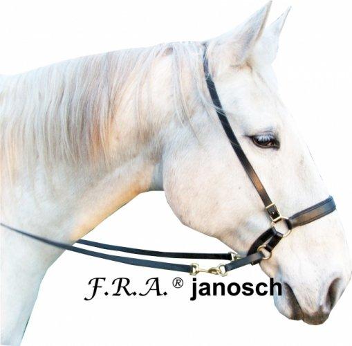 Ogłowie bezwędzidłowe Janosh- F.R.A