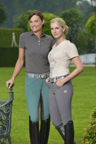 Koszulka polo Pikeur MARIELLA - light blue