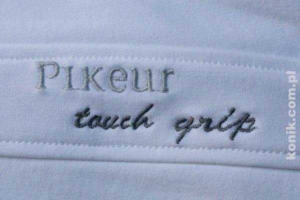 Bryczesy Pikeur LUCINDA GRIP z silikonowym lejem - białe