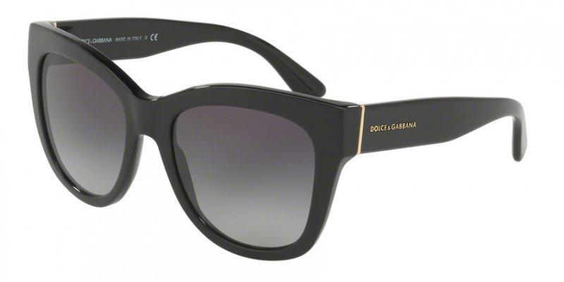 Okulary przeciwsłoneczne Dolce & Gabbana plastikowe DG4270