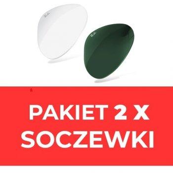Soczewki- komplet (2szt) do okularów Ray-Ban® i inne*