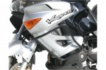 CRASHBAR/GMOL HONDA XL 1000 V (04-05)+ 2003 (ABS) BLACK SW-MOTECH
