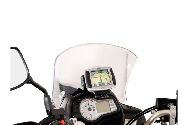 MOCOWANIE GPS Z AMORTYZACJĄ DRGAŃ BLACK SUZUKI DL 650 V-STROM (11-) SW-MOTECH