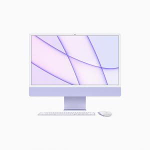 Apple iMac 24 4,5K Retina M1 8-core CPU + 8-core GPU / 16GB / 1TB SSD / Gigabit Ethernet / Fioletowy (Purple) - 2021
