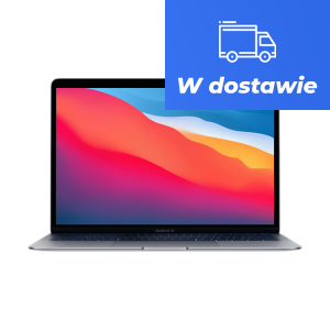 MacBook Air z Procesorem Apple M1 - 8-core CPU + 8-core GPU /  16GB RAM / 512GB SSD / 2 x Thunderbolt / Space Gray