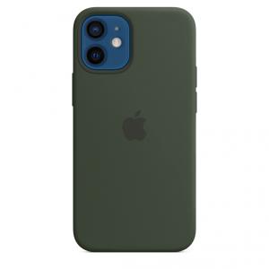 Apple Silikonowe etui z MagSafe do iPhone'a 12 mini – cypryjska zieleń