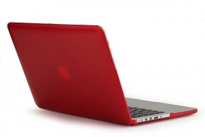 KMP Etui MacBook Pro Ret 15 - Czerwony
