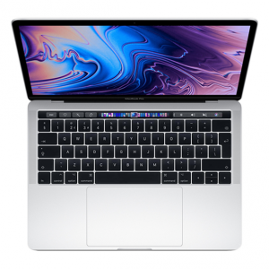 MacBook Pro 13 Retina Touch Bar i7 1,7GHz / 16GB / 256GB SSD / Iris Plus Graphics 645 / macOS / Silver (2019)