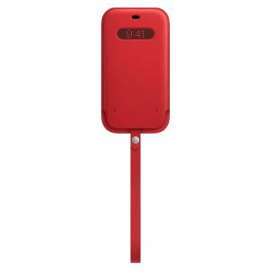 Apple Skórzany futerał z MagSafe do iPhone'a 12 / 12 Pro - (PRODUCT)RED