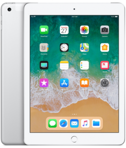 iPad 6-gen 9,7 32GB LTE + Wi-Fi Silver