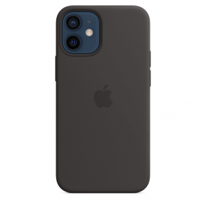 Apple Silikonowe etui z MagSafe do iPhone'a 12 mini - czarne