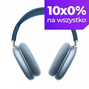 Apple AirPods Max - Słuchawki bezprzewodowe Bluetooth w kolorze błękitnym